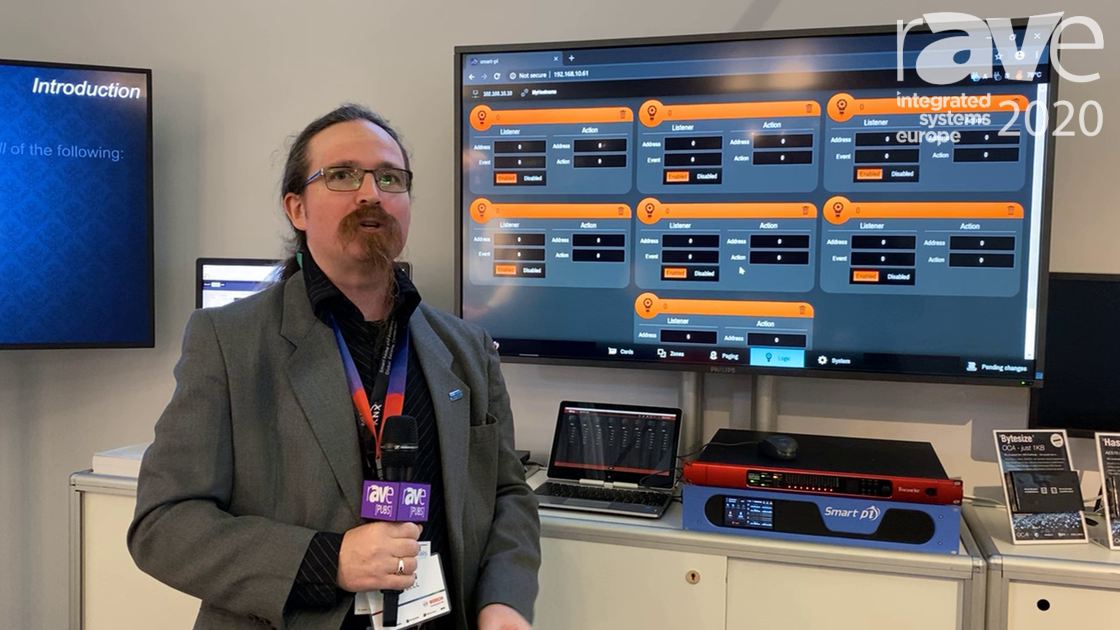 ISE 2020: OCA Alliance Shows Smart pi Public Address System With Integrated DSP Using AES70 Protocol