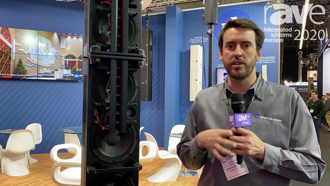 ISE 2020: Renkus Heinz Features the ICLiveX Digitally Steerable Loudspeakers
