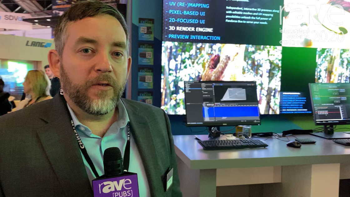 ISE 2020: Christie Introduces the New FHD554-XZ-H Tiled LCD Display With .88-mm Combined Bezel Width
