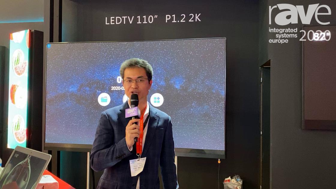 ISE 2020: TransTech LED Showcases the 110″ P1.2 2K LEDTV