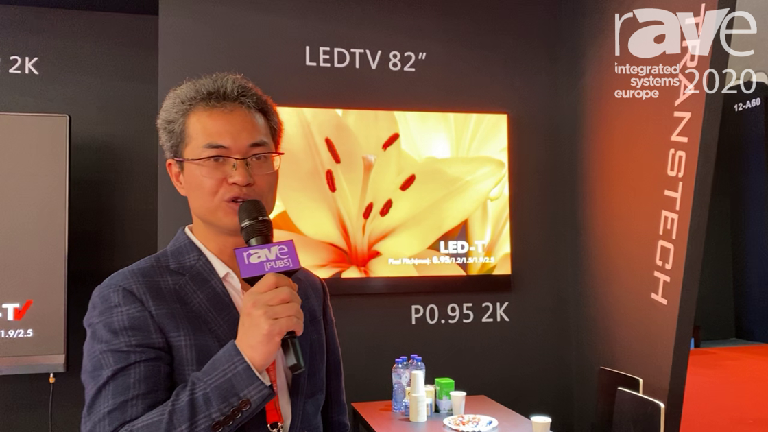 ISE 2020: TransTech LED Features the 82″ P0.95 2K LEDTV