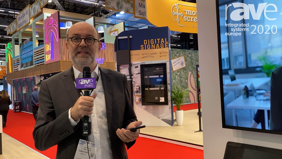 ISE 2020: Vivitek Intros the NovoDisplay With Included Wireless Collaboration and Digital Signage