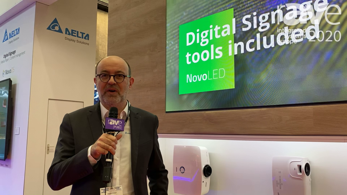 ISE 2020: Vivitek Unveils the 137″ NovoLED, a LED Wall With Built-In Digital Signage, Collaboration