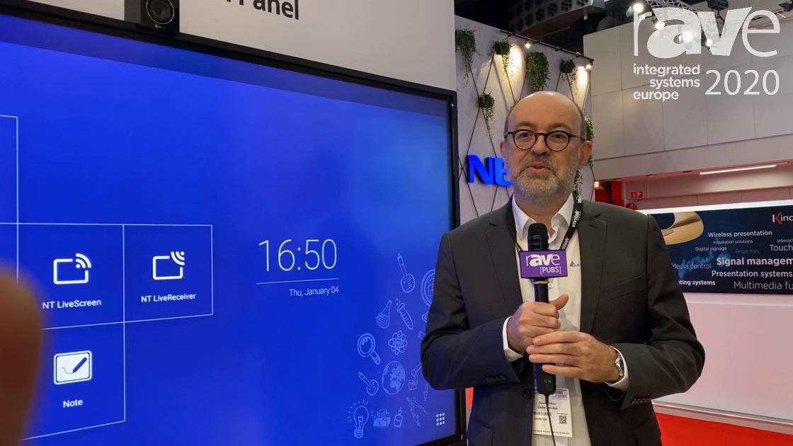 ISE 2020: Vivitek Features the NovoTouch Education Collaborative Touch Panel