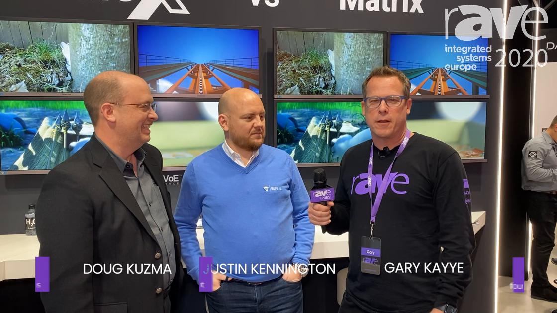 ISE 2020: Black Box's Doug Kuzma, SDVoE Alliance's Justin Kennington Talk AV-Over-IP Training Tour