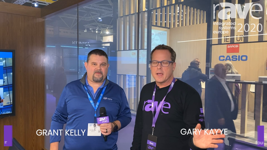 ISE 2020: Gary Kayye Takes the Perfect Intel Unite Stand Tour with Grant Kelly