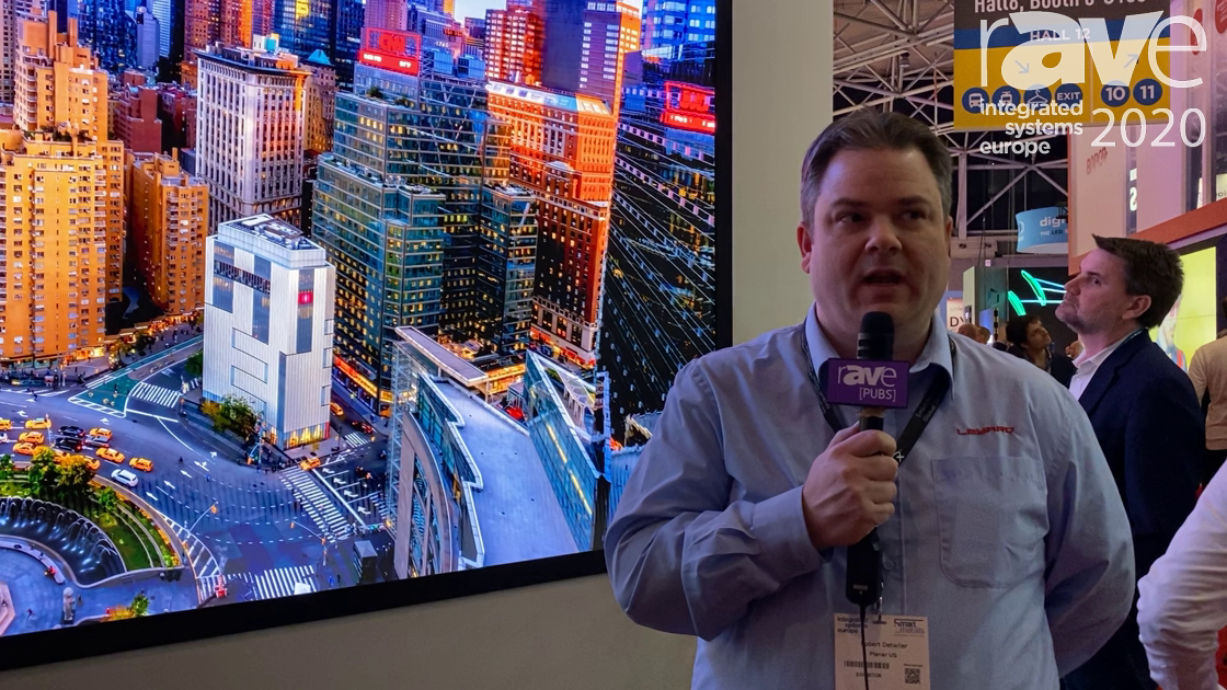 ISE 2020: Leyard Planar Debuts microLED, Previews 8K 0.6mm Pixel Pitch Video Wall