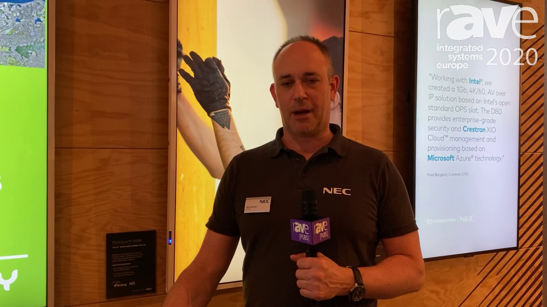 ISE 2020: NEC Display Partners With BirdDog for NDI Solution With SDM