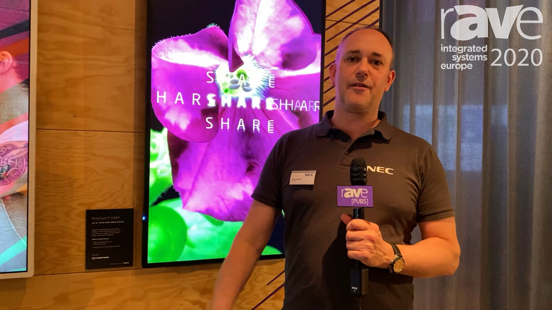 ISE 2020: NEC Display Showcases the Crestron NVX D80 OPS for NEC Displays