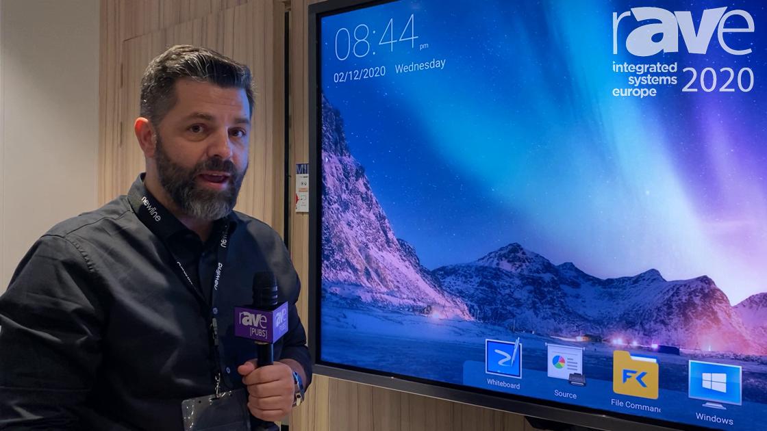 ISE 2020: Newline Interactive Showcases the MIRA Versatile Meeting Room Display