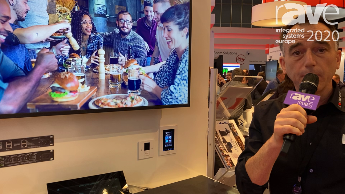 ISE 2020: RTI Highlights Integration of QSC Premium Business Music on the COMM-TEC Exertis Stand