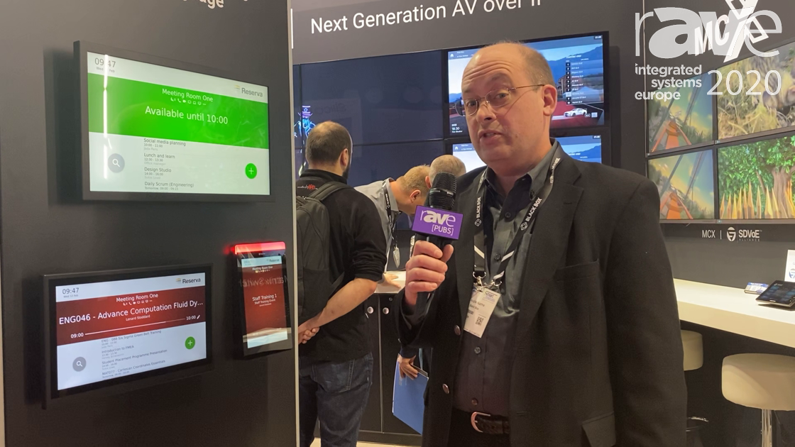 ISE 2020: Black Box Unveils Reserva Room Reservation System, an Extension of iCOMPEL Digital Signage