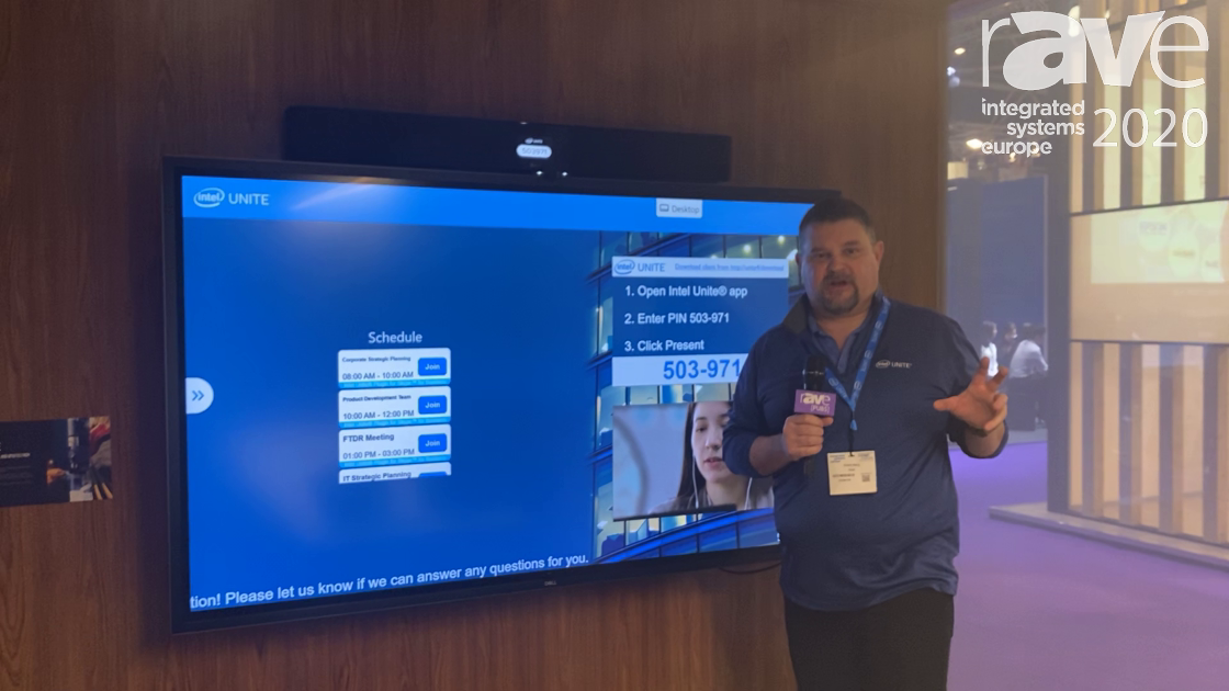 ISE 2020: Intel Unite Demos the Conference Room of the Future, Features Jabra and Nureva