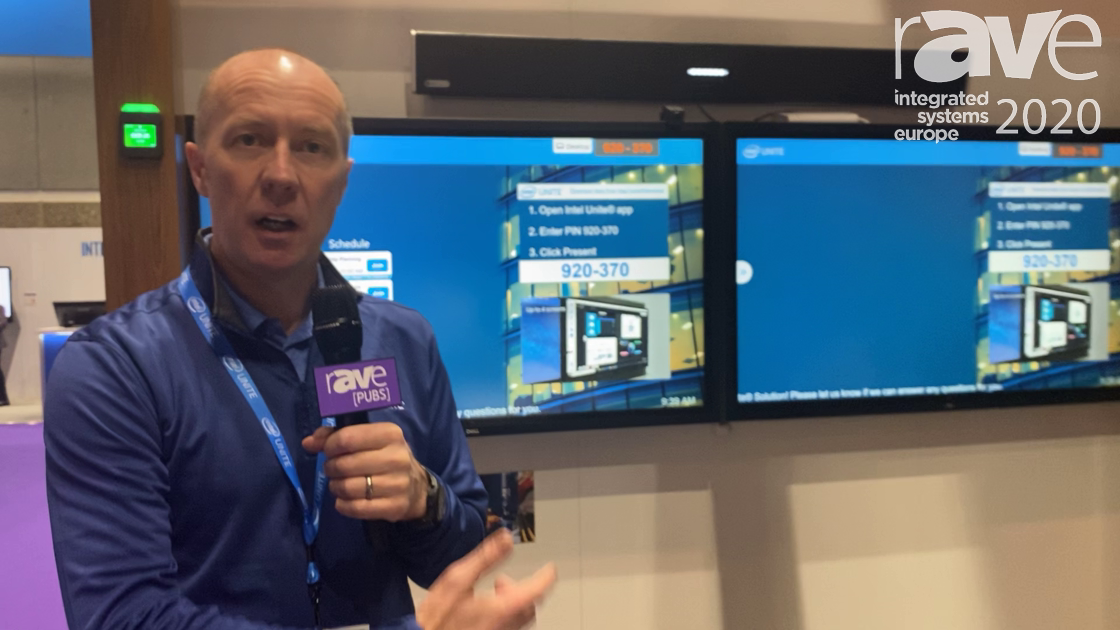 ISE 2020: Intel Unite Demos How It Works in the Modern Collaborative Office