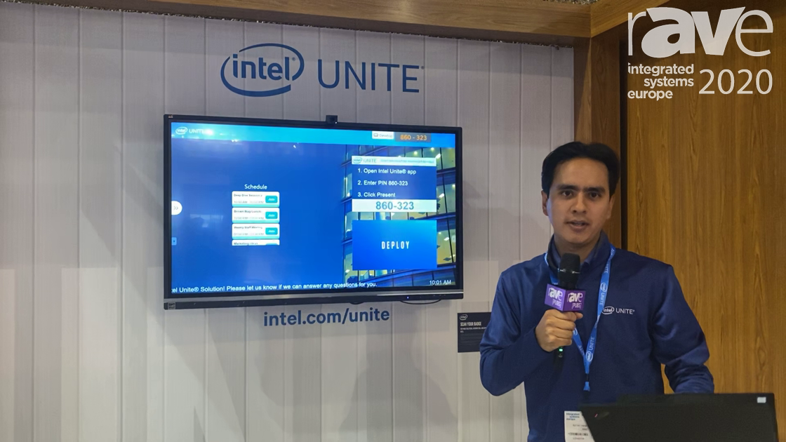 ISE 2020: Intel Unite Demos Collaboration for Next Generation Huddle Spaces (in Spanish)