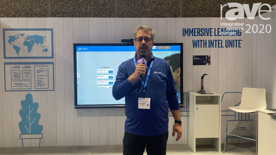ISE 2020: Intel Unite Powers the Classroom and Allows Schools to Teach to the Future