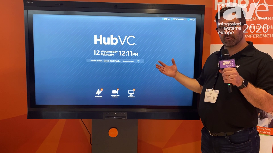 ISE 2020: T1V Shows How Its HubVC Makes Enhanced Video Conferencing Simple
