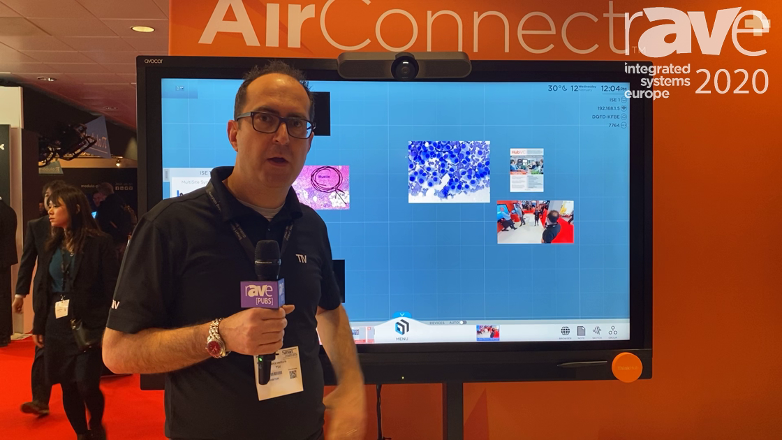 ISE 2020: T1V Demonstrates How ThinkHub MultiSite Sync Provides an Enhanced User Experience
