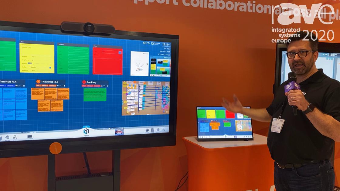 ISE 2020: T1V Demonstrates the Flexibility of Its ThinkHub xCanvas