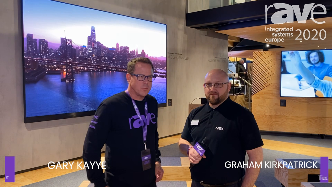ISE 2020: Here's an Awesome NEC Display Booth Tour from Graham Kirkpatrick