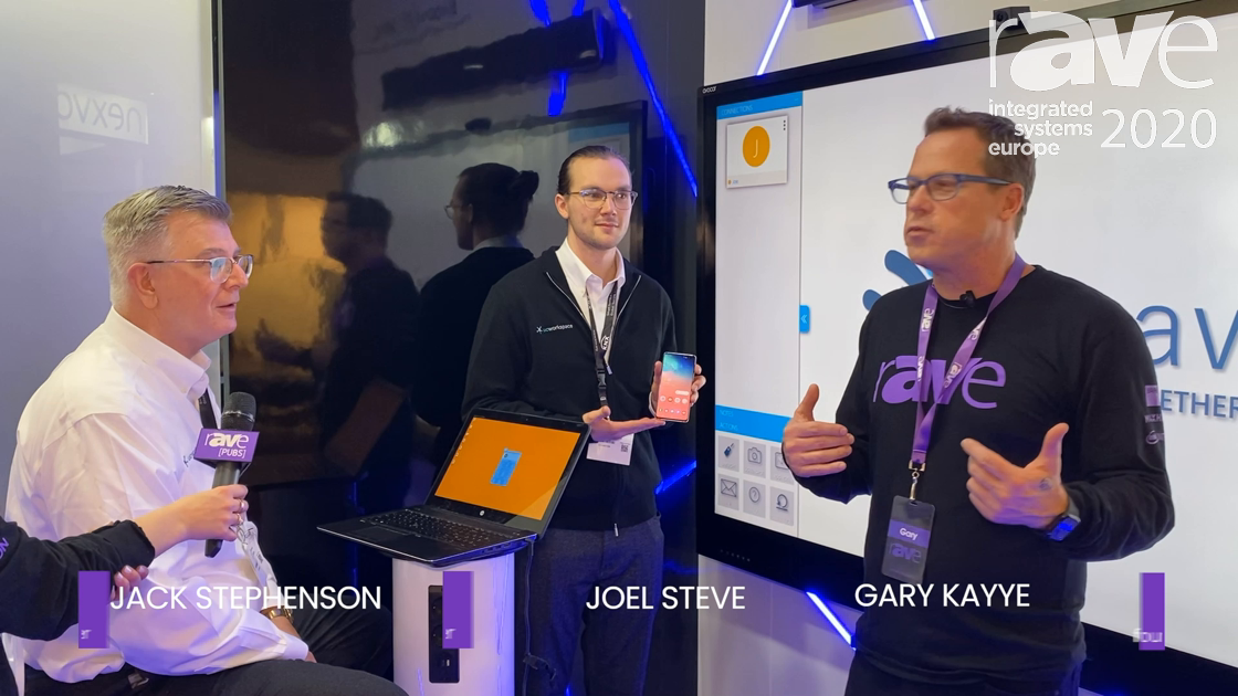 ISE 2020: Watch This Demo of One of the Hottest New Products at the Show, the UCWorkspace WEAV