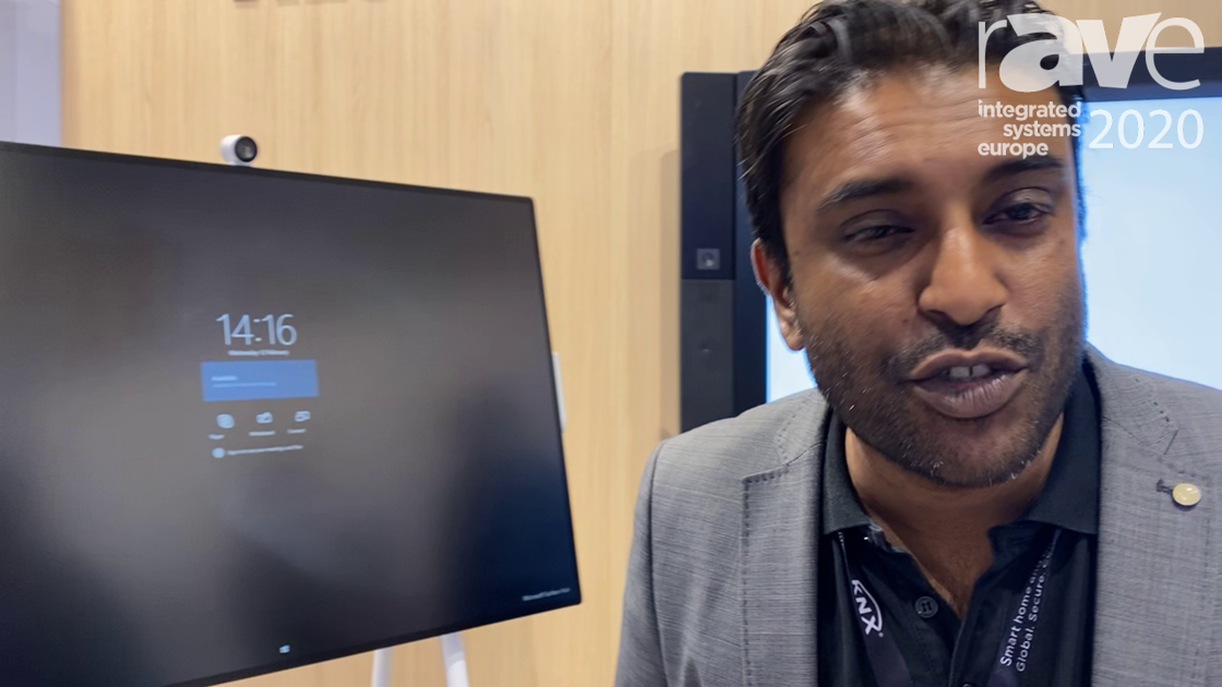 ISE 2020: Microsoft and ALSO Present Microsoft Surface Hub 2S Whiteboard and Collaboration Device