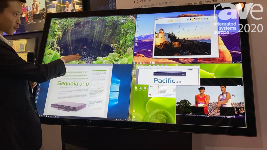 ISE 2020: Avitech Shows Off The Sequoia UHD with 4K Touchscreen Display
