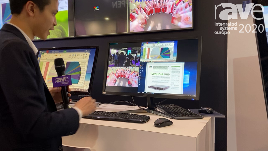 ISE 2020: Avitech Discusses Its oIP Ecosystem Multiview Workstation