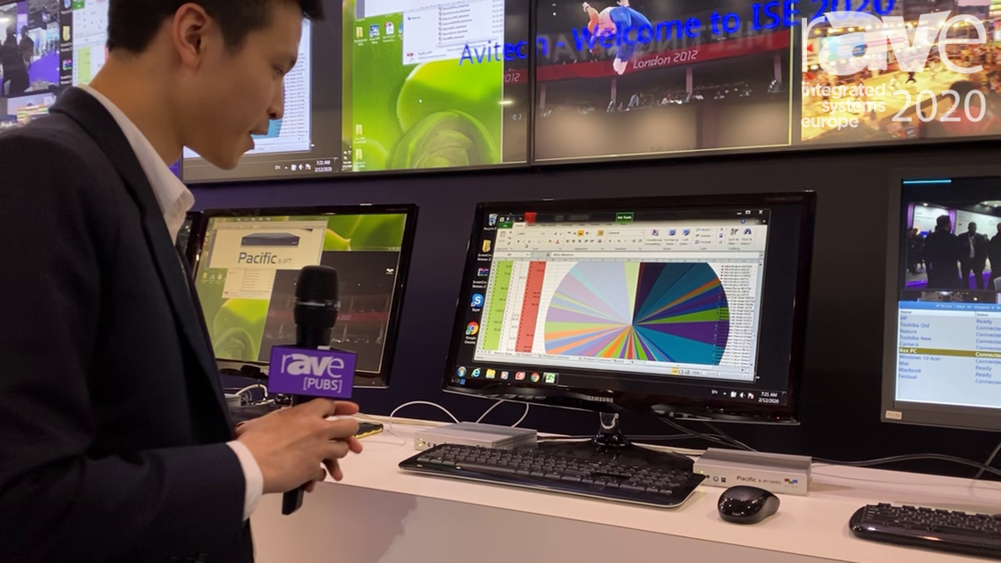 ISE 2020: Avitech Talks About Its oIP Ecosystem Single View Workstation