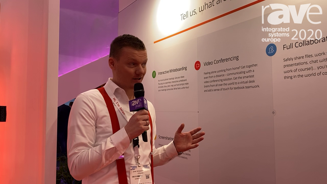 ISE 2020: CTOUCH Talks About Its Brix Touchscreen Display Solutions