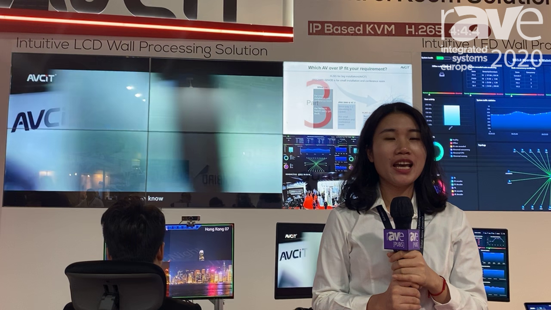 ISE 2020: AVCIT Electronics Shows Its Intuitive Video Wall Processing and Dynamic KVM over IP
