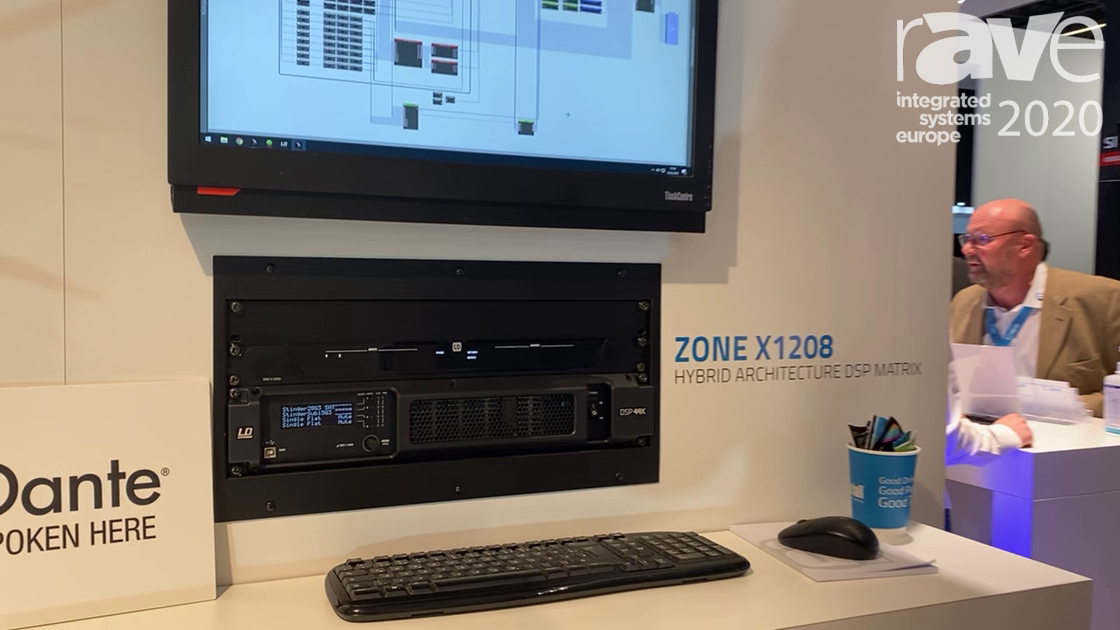 ISE 2020: Adam Hall Group Discusses Its Zone X1208 DSP Unit