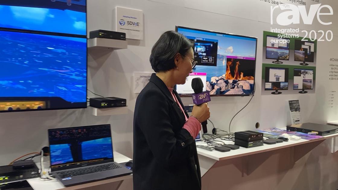 ISE 2020: Aegis Demonstrates It 4K Viewer Series of KVM Solutions