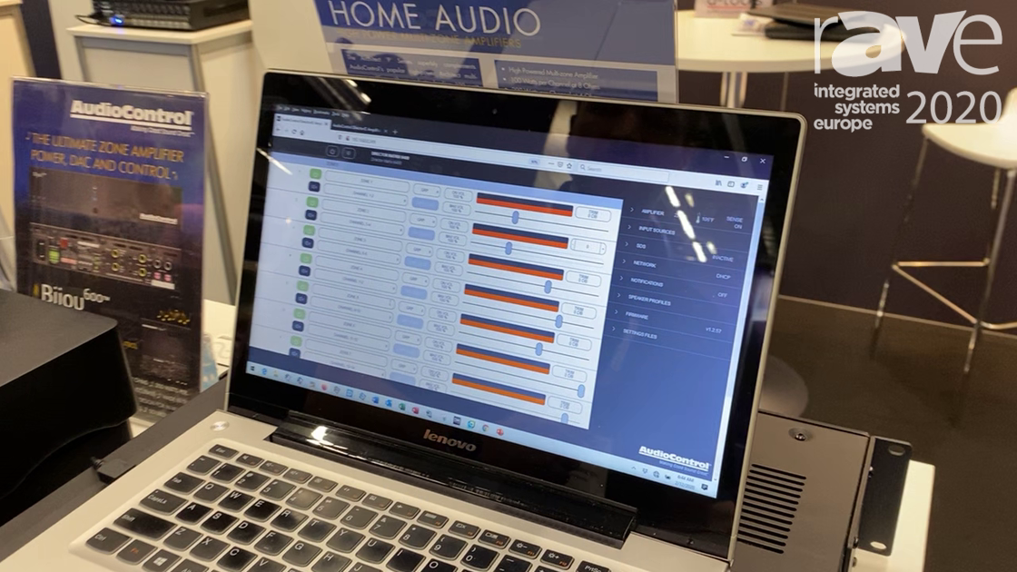 ISE 2020: AudioConrtol Debuts Its Director Web App for Audio Zone Control