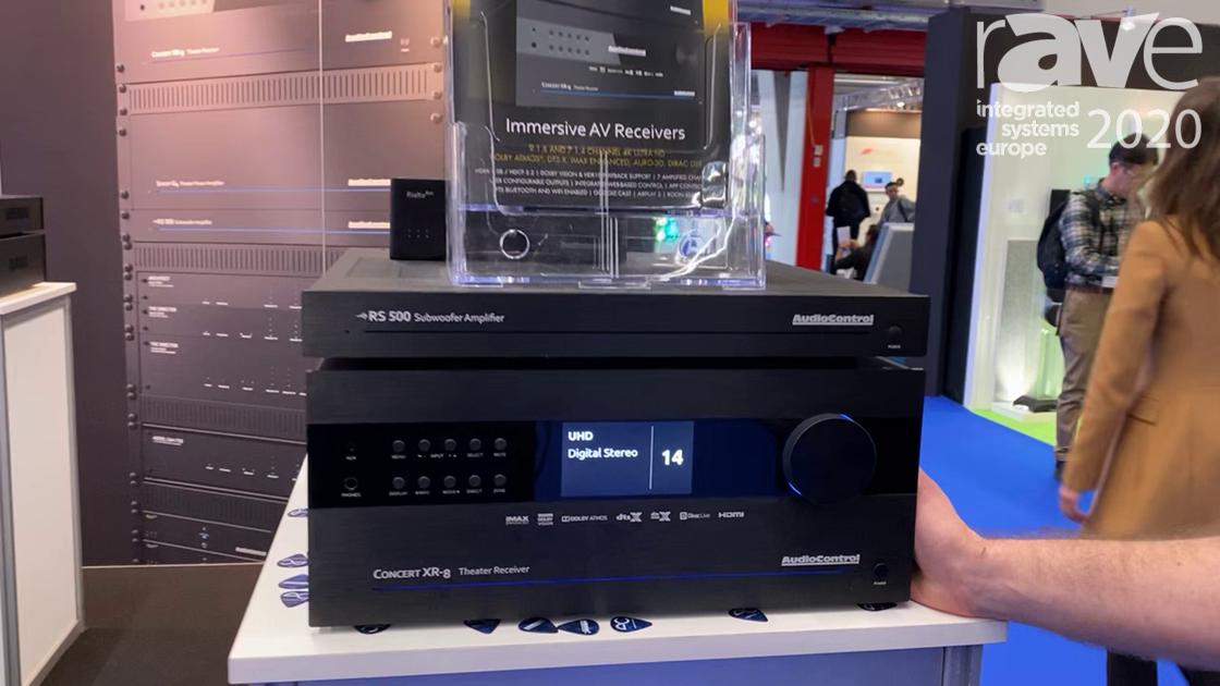 ISE 2020: AudioControl Debuts the Concert XR-8 Entertainment Center