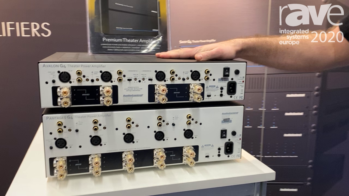 ISE 2020: AudioControl Debuts The G4 and G5 Series Amplifier