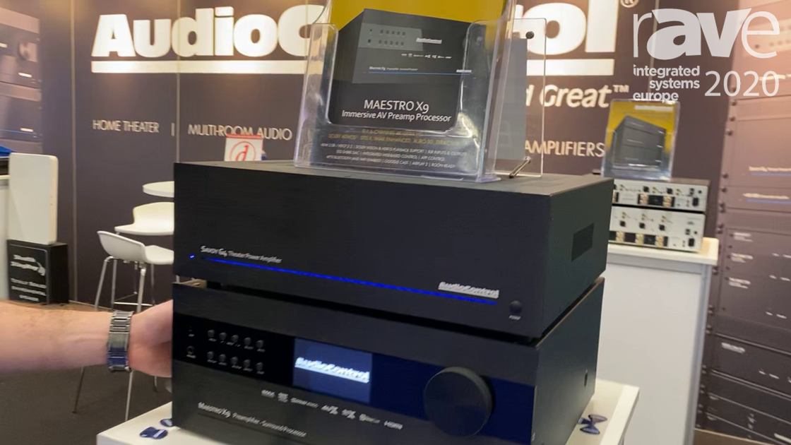 ISE 2020: AudioControl Debuts the Maestro X9 16 Channel Amplifier