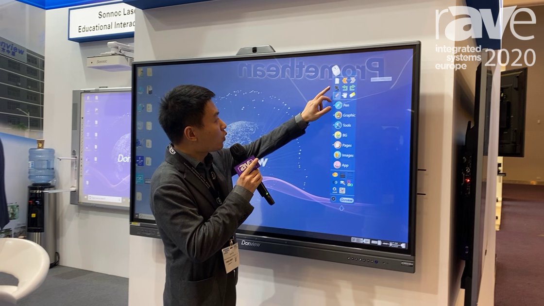 ISE 2020: Donview Showcases Education Software for Interactive Panels