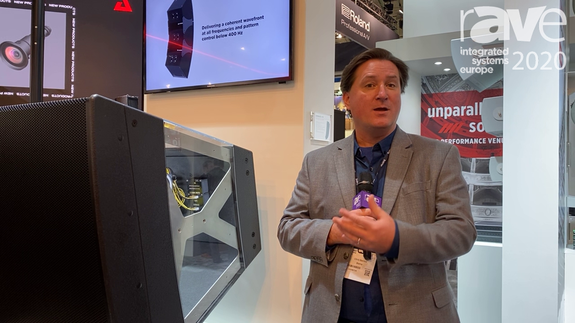 ISE 2020: Biamp Discusses the LVH-900 Beam Forming Venue Horn