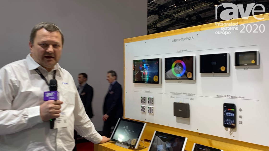 ISE 2020: CUE Provides an Overview of Its Various Control System Devices