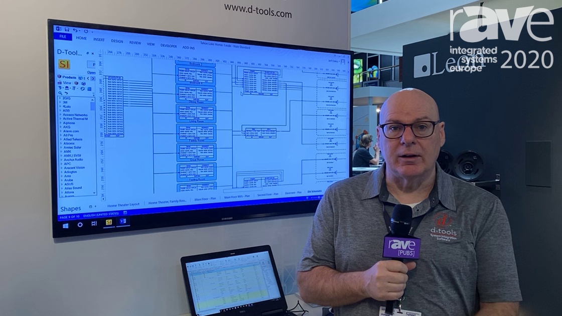 ISE 2020: D-Tools Shows Us Its Latest Version of System Integrator