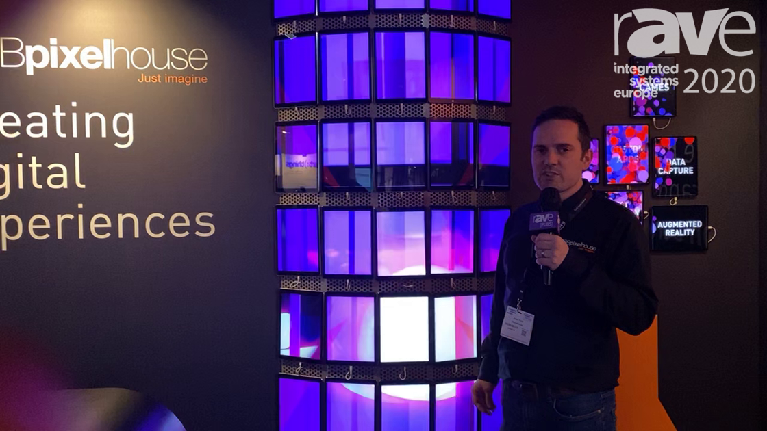 ISE 2020: DBpixelhouse Pixel Shows Off the Versatility of Pixel Brix for Digital Signage