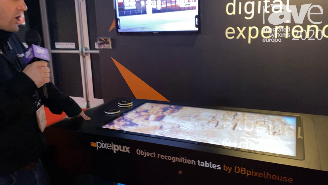 ISE 2020: DBpixelhouse Demonstrates the Pixel Pux Object Recognition Table