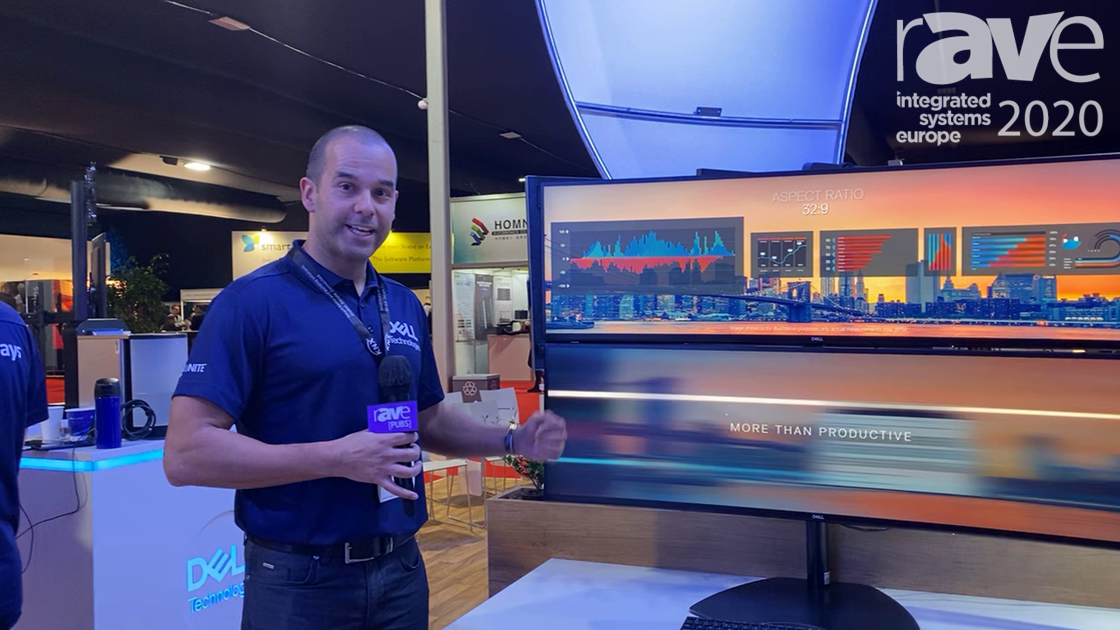 ISE 2020: Dell Technologies Demonstrates The U4919DW Ultrawide Curved Display