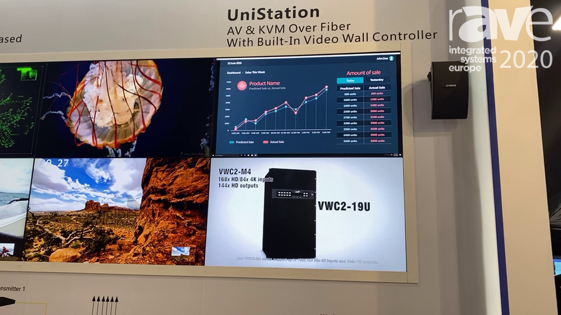 ISE 2020: DigiBird Discusses Its UniStation Display System with KVM Support