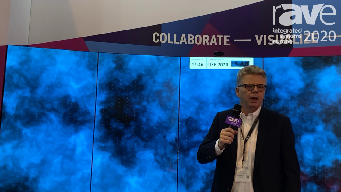 ISE 2020: MultiTaction Presents The Canvas Collaboration Software System