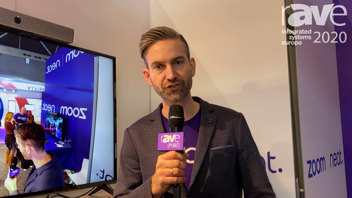 ISE 2020: Neat Shows Off Its Neat Bar for Use with Zoom Rooms