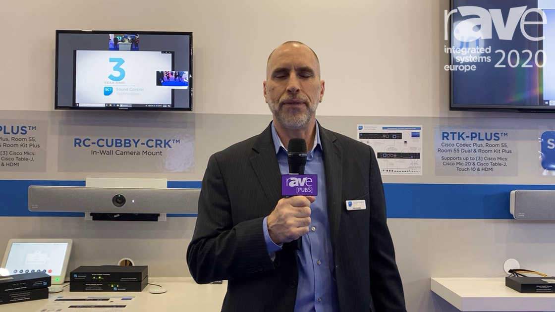 ISE 2020: Sound Control Technologies Discusses Its RC8-CQC for Cisco Systems