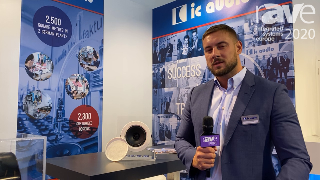 ISE 2020: ic audio Talks About the Latest Addition to the SWF-EN54 the DL-P 10-165/T