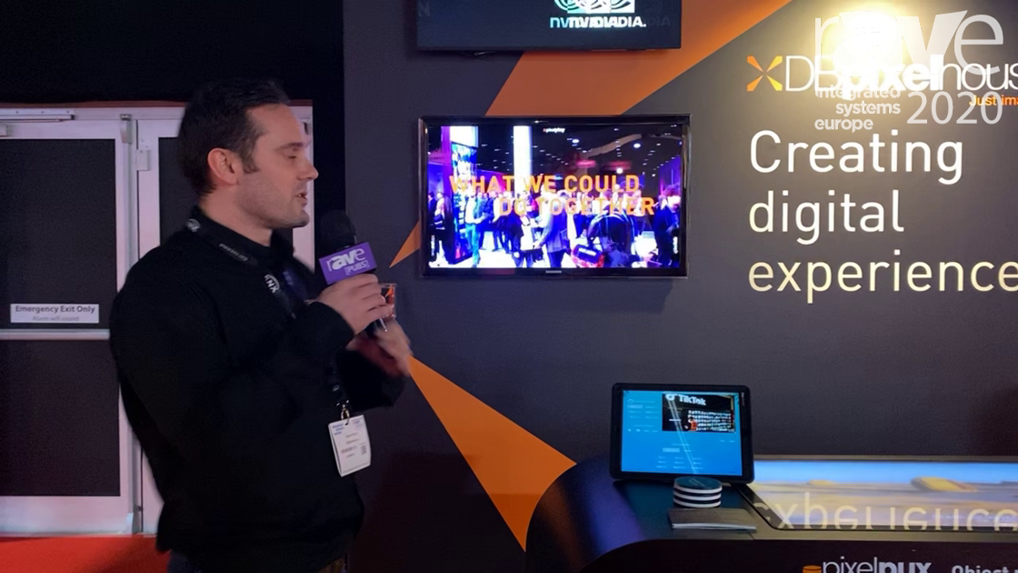 ISE 2020: DBpixelhouse Demonstrates Its New Pixel Play Control System for Digital Signage
